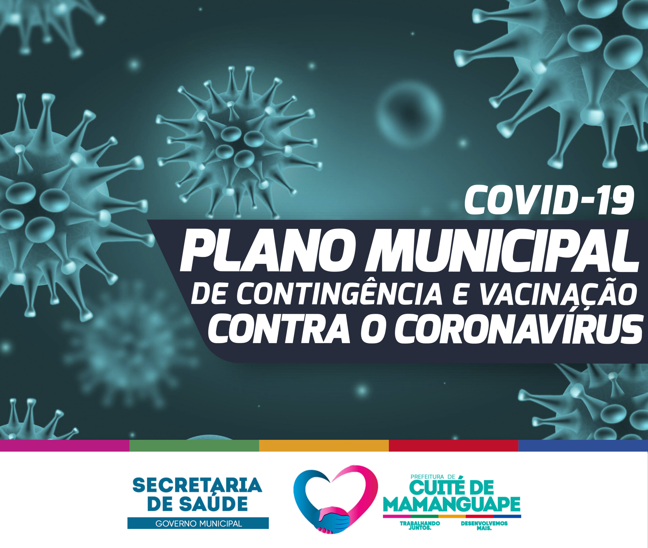 A Secretaria de Saúde de Cuité de Mamanguape apresenta o Plano de Contingência e Vacinação contra a COVID-19