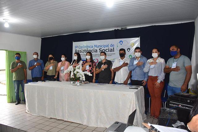 9ª Conferência Municipal de Assistência Social do nosso município.