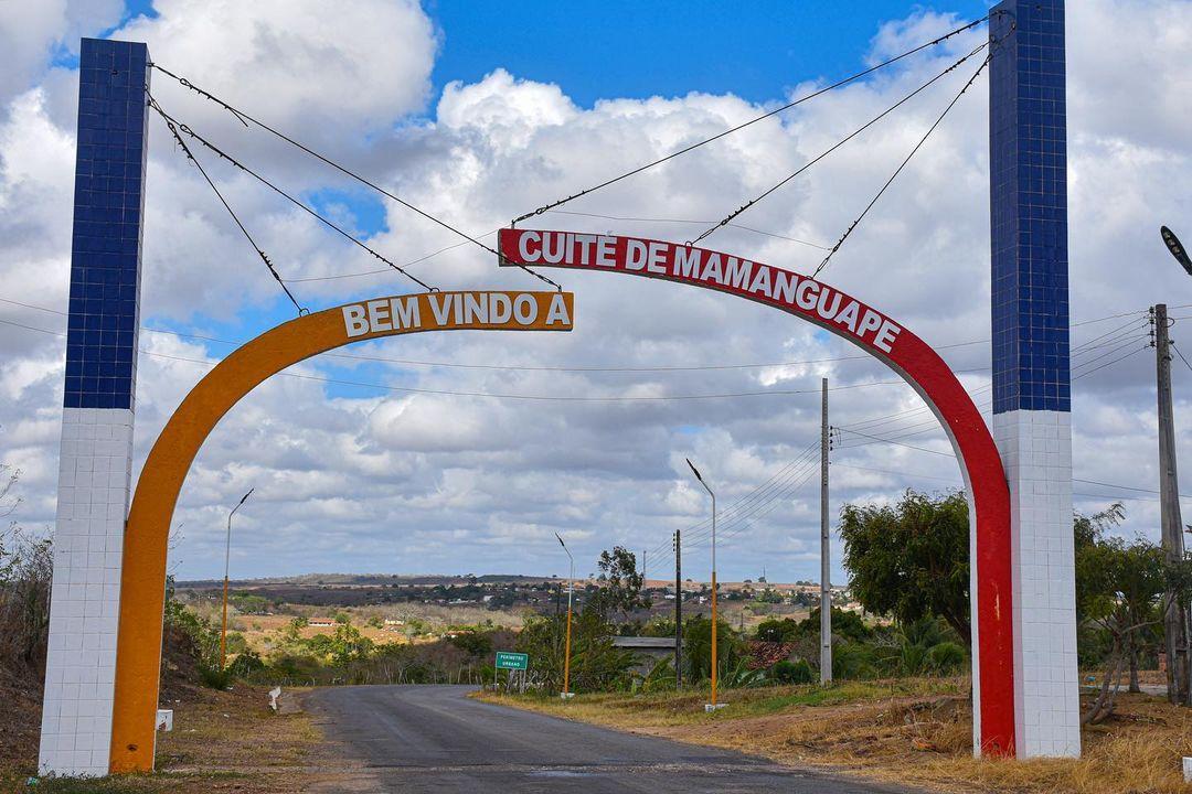 NOVO LETREIRO DA CIDADE DE CUITÉ DE MAMANGUAPE